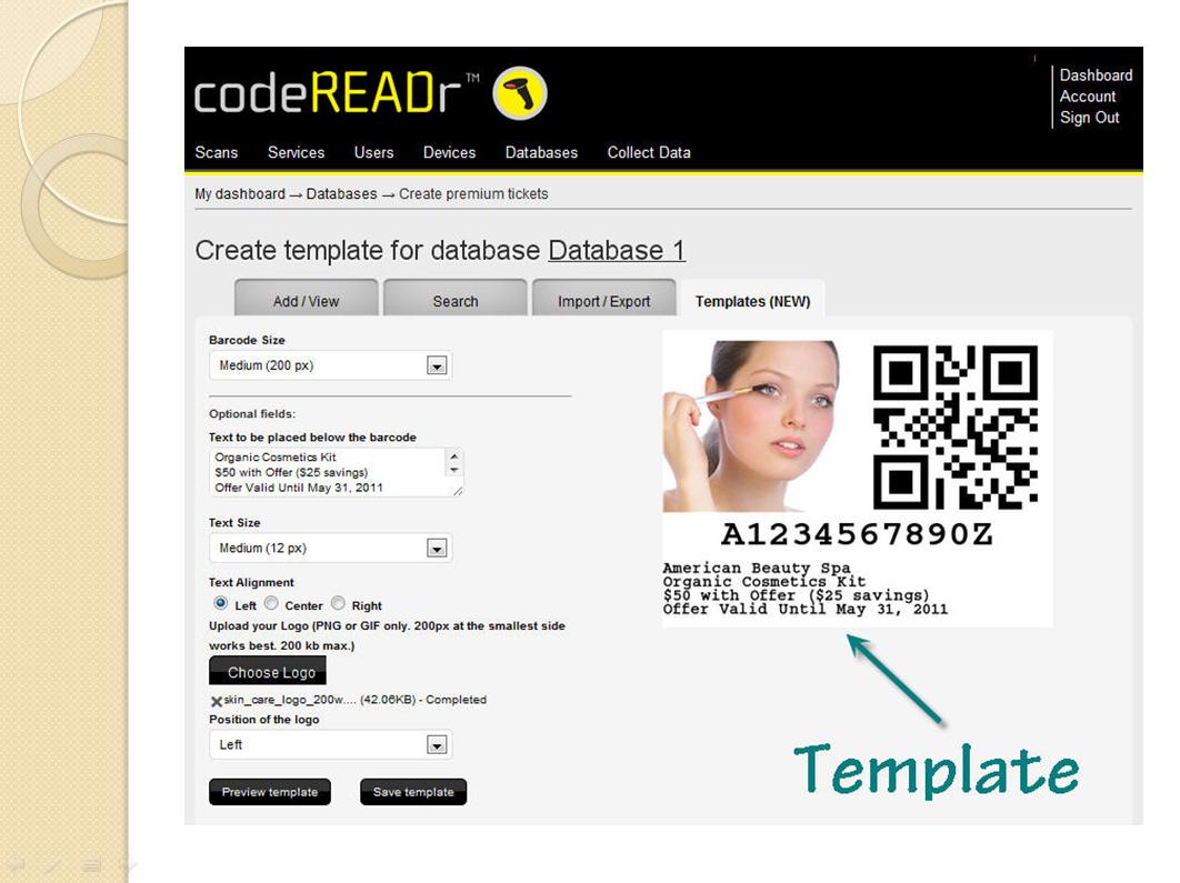 Mobile Commerce CodeREADr