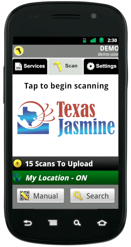 Scan to Order with Smartphone
