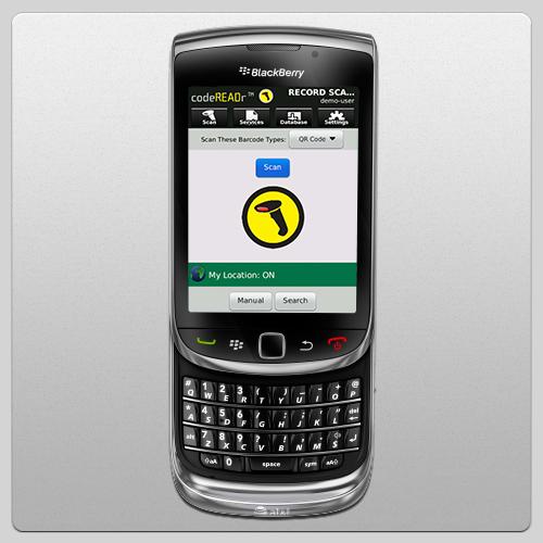BlackBerry Barcode Scanner Updated