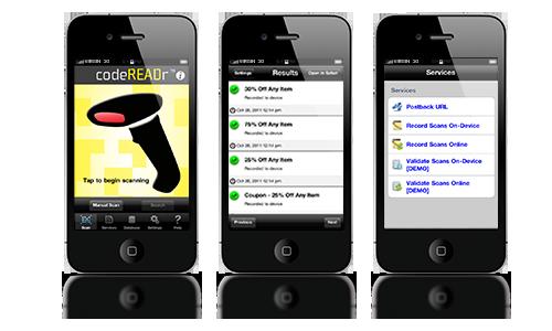 iPhone Barcode Scanner Update