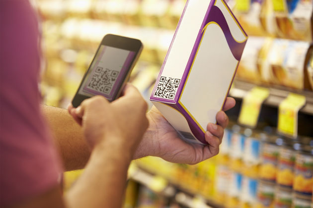Scanning Barcodes and Collect Data with Responsive Text