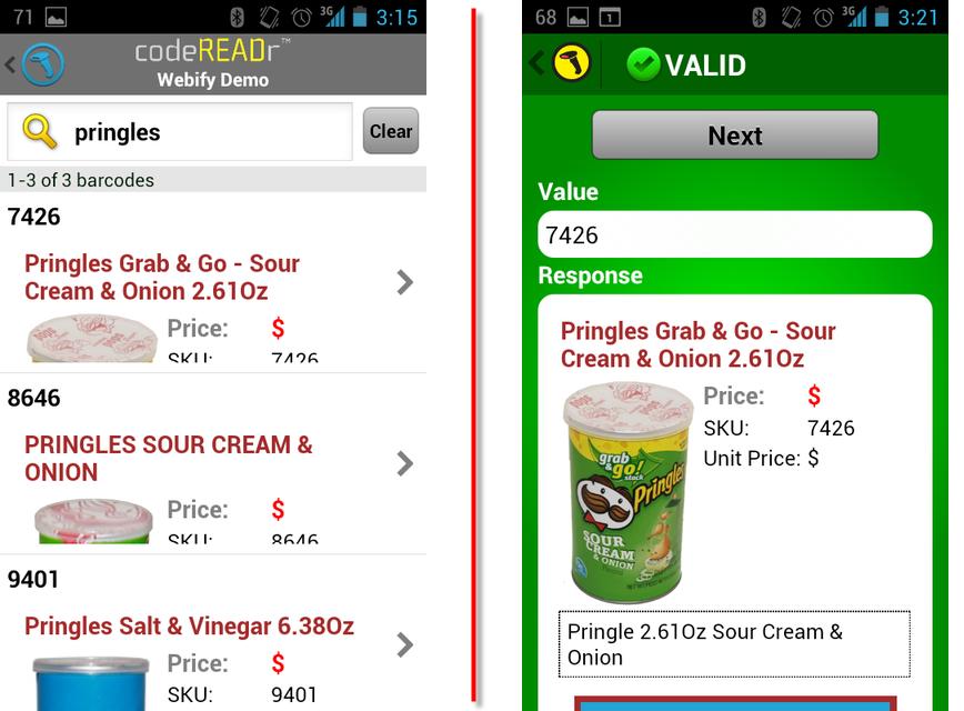 Webify In-App Content and Branding