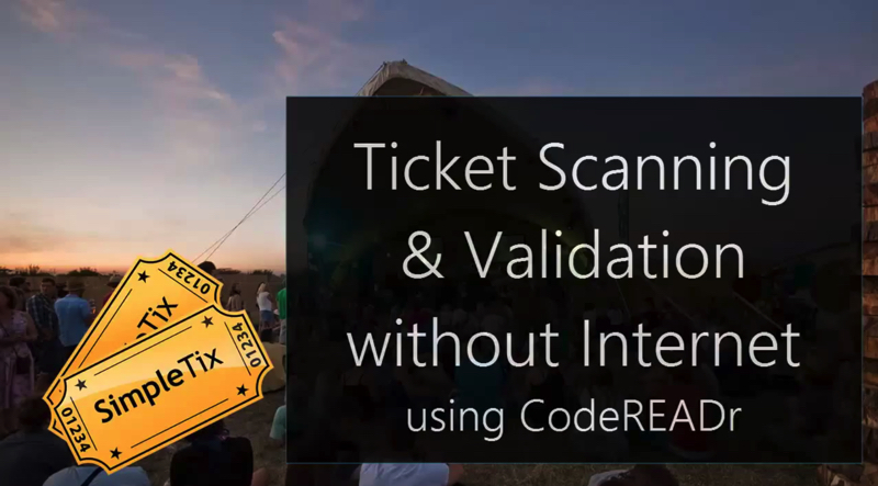 offline barcode access control
