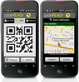 Location Tracking Added to Barcode App