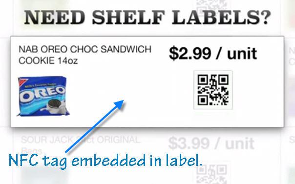 NFC App Mobile Shopping