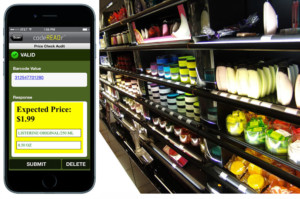 Retail Price Audit with Barcode Scanner