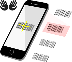rapid barcode scanning