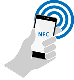 Verify proof of presence with NFC