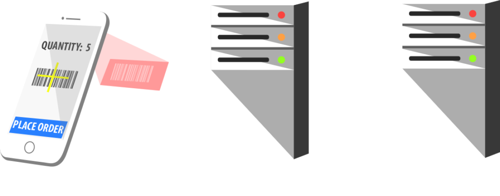 Post scan records directly to your own server
