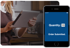 codeREADr's wholesale ordering features enable sales reps and retail clients to check inventory and re-order stock using their smartphones and tablets.