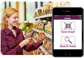 Use codeREADr as a mystery shopper app to track products