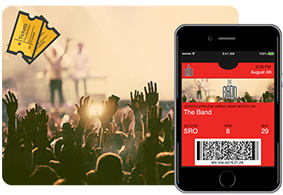Use codeREADr as a ticket scanning app for mobile tickets at your concert, club or show.