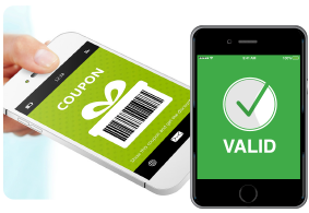 codeREADr can be used a a coupon scanning app to redeem coupons with barcodes