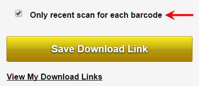 Last Scan link