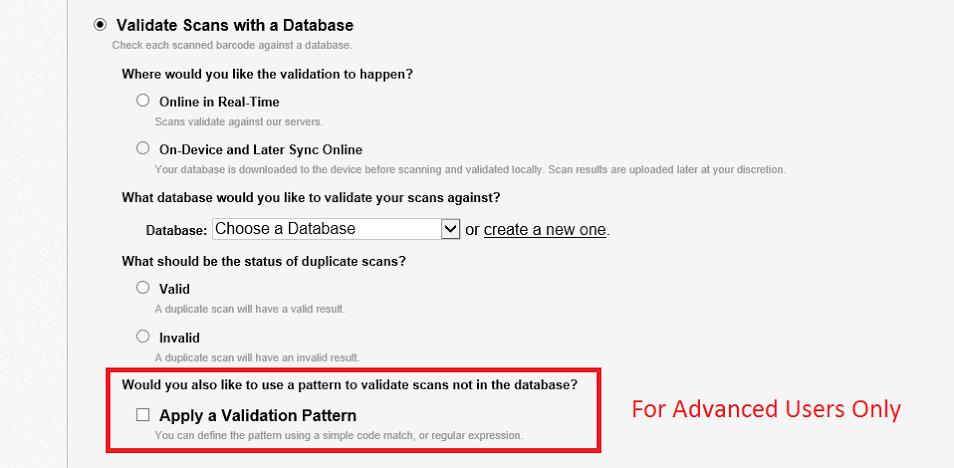 Apply validation pattern service
