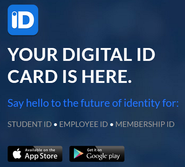 digital id card app for ios and android with scannable barcoded