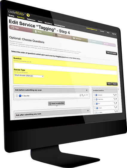 Web-Based Barcode System