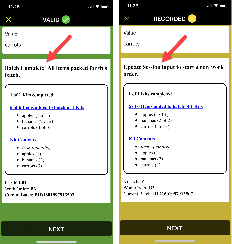 Kitting Verification App