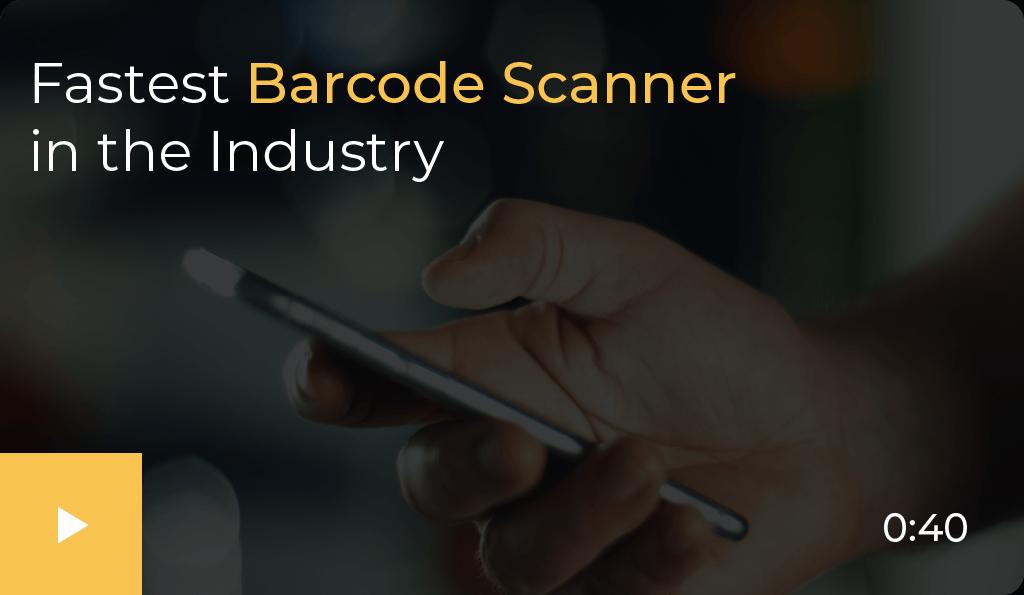 fastest barcode scanner